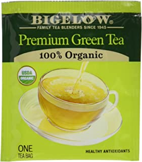 Bigelow Premium Green Tea Bags, 176 Count Box, Caffeinated Individual Green Tea Bags, for Hot Tea or Iced Tea, Drink Plain...