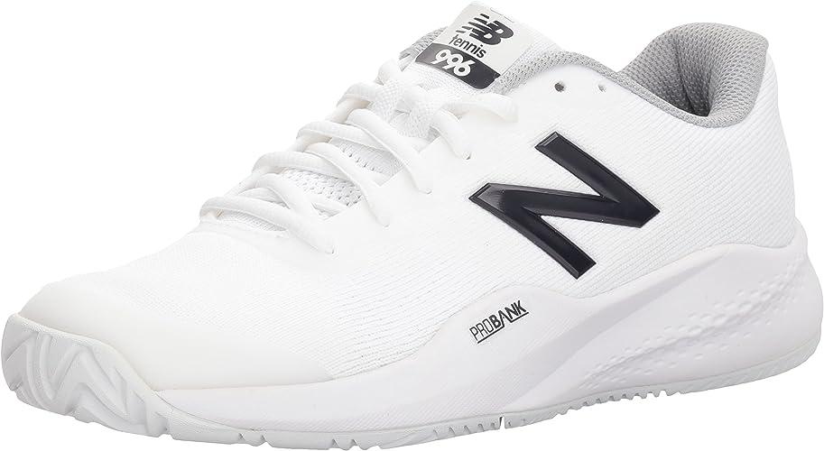New Balance Wohommes Hard Court WCH99 Chaussures, 39 EUR - Width B, blanc