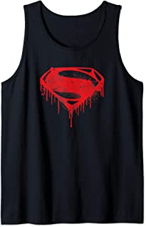 SuperHeroStuff Deadpool Distressed Symbol Tank Top