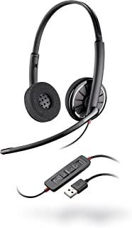 Plantronics 85619-101 Black Wire C320,M , Wired Headset , On- Ear , Gray