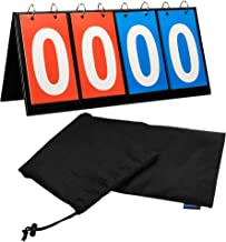 Bluecell 4-Digital Portable Table Top Sports Volleyball Basketball Table Tennis Scoreboards