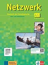 Netzwerk a2, libro del alumno y libro de ejercicios, parte 2 + 2 cd + dvd: Deutsch als Fremdsprache: Vol. 2