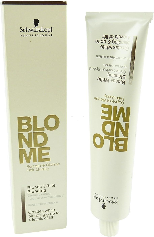 Schwarzkopf BM White Blending Ice Crema Decolorante - 100 ml ...