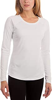 Vapor Apparel Women's UPF 50+ UV Sun Protection Outdoor Performance Long Sleeve T-Shirt