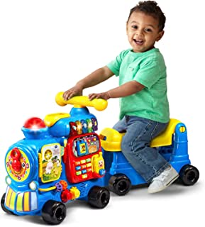 VTech Sit-to-Stand Ultimate Alphabet Train, Blue, Great Gift For Kids, Toddlers, Toy for Boys and Girls, Ages 1, 2, 3