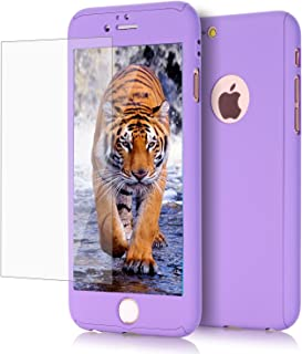 iPhone 6/ 6S Plus case, VPR 2 in 1 Ultra Thin Full Body Protection Hard Premium Luxury Cover [Slim Fit] Shock Absorption Skid-proof PC case for Apple iPhone 6/ 6S Plus (5.5 inch) (Purple)