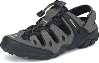 SAGUARO Mens Womens Athletic Hiking Sandal Closed Toe Outdoor Walking Water Shoes