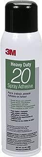 3M Heavy 20 Spray Adhesive Can (Clear, w -13.75 oz)