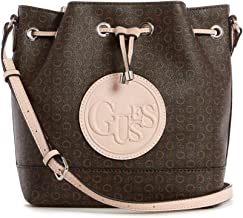 GUESS Factory Angelea Logo Bucket Bag
