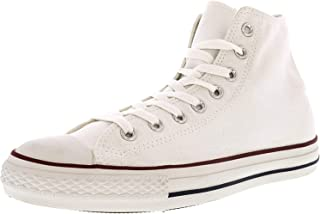 Converse Mens Chuck Taylor All Star High Top Sneakers (3.5 Optical White