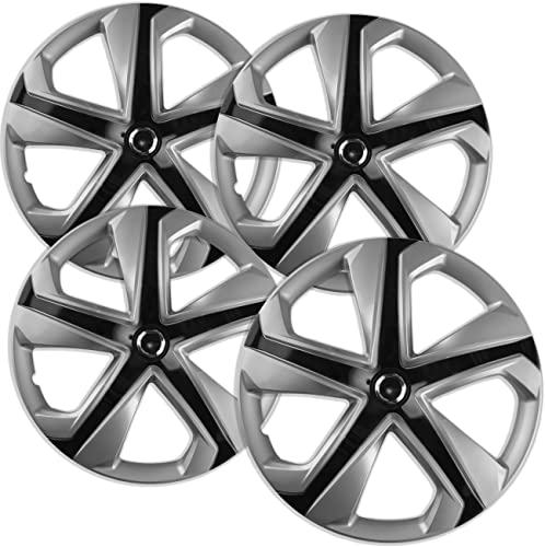 new arrival Hub-caps for 11-15 Scion IQ (Pack of online sale 4) Wheel Covers lowest 16 inch Snap On Silver outlet sale