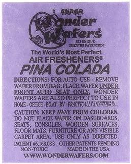 Wonder Wafers 3005 Pina Colada Scent Air Freshener Car Truck - 100 Pack