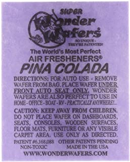 pina colada car air freshener bag