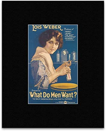 WHAT DO MEN WANT - Claire Windsor Mini Poster - 18.6x11.8cm