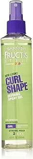 Garnier Fructis Style Curl Shape Defining Spray Gel, Curly Hair, 8.5 fl. oz.