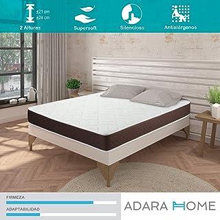 Adara Home Tempo - Colchón Viscoelástico 105x190, Altura 24cm