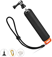 ORBMART Waterproof Floating Handle for GoPro 5 Camera, Floating Hand Grip, Handle Tripod & Stick Pole for GoPro Hero 6 Black GoPro Hero(2018)/6/5/4/3 AKASO Yi Camera and other Action Cameras.