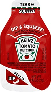 Heinz Ketchup Dip & Squeeze Packets (0.95 oz Packets, Pack of 300)