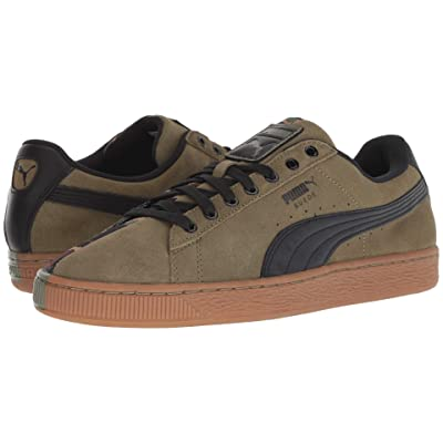 PUMA Suede SP (Burnt Olive/Puma Black) Men
