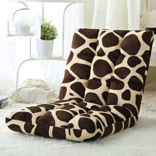 Yu Chuang Xin Sedia imbottita, schienale, sedia pieghevole, pieghevole, regolabile, versatile, confortevole, adatta per gu...