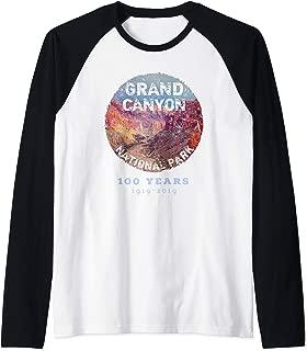 Grand Canyon National Park Centennial Anniversary 2019-2020 Raglan Baseball Tee
