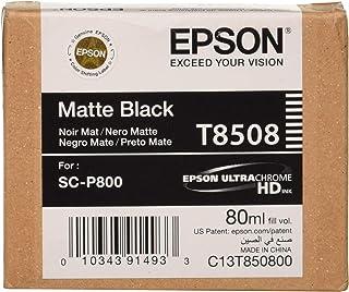 Epson C13T850800 Singlepack Matte, schwarz