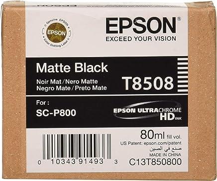 Epson T8508-C13T850800 Mat Siyah Orjinal Kartuş