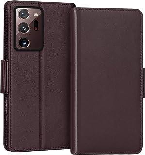 "FYY Case for Samsung Galaxy Note 20 Ultra 6.9"", Luxury [Cowhide Genuine Leather][RFID Blocking] Wallet Case, Flip Folio Ca..."