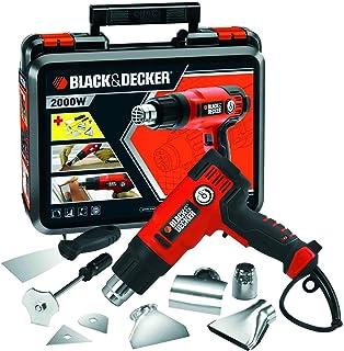 comprar comparacion BLACK+DECKER KX2200K-QS - Decapador 2.000W, hasta 645˚C, 230V, incluye 8 accesorios y maletín