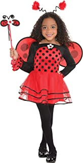 AMSCAN Ballerina Ladybug Halloween Costume for Toddler Girls, 3-4T, with Included Accessories