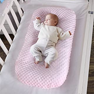 Abreeze Baby Lounger Baby Nest Sleeper Co-Sleeping for Baby, Ultra Soft Portable Adjustable Newborn Lounger Crib Bassinet ...