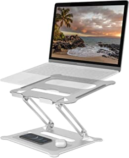 Laptop Stand For Desk Bed Computer Stand Adjustable Laptop Riser Portable Laptop Macbook Pro/Air Stand Computer Monitor Stand Sofa Couch Car Foldable Laptop Holder For Dell Hp Lenovo Microsoft Surface