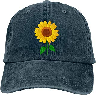 Waldeal Sunflower Clipart Low Profile Adjustable Structured Baseball Hat