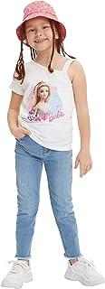DeFacto Jeans da ragazza Slim Fit con 5 tasche, 98% cotone, 2% elastan, elegante denim per ragazze