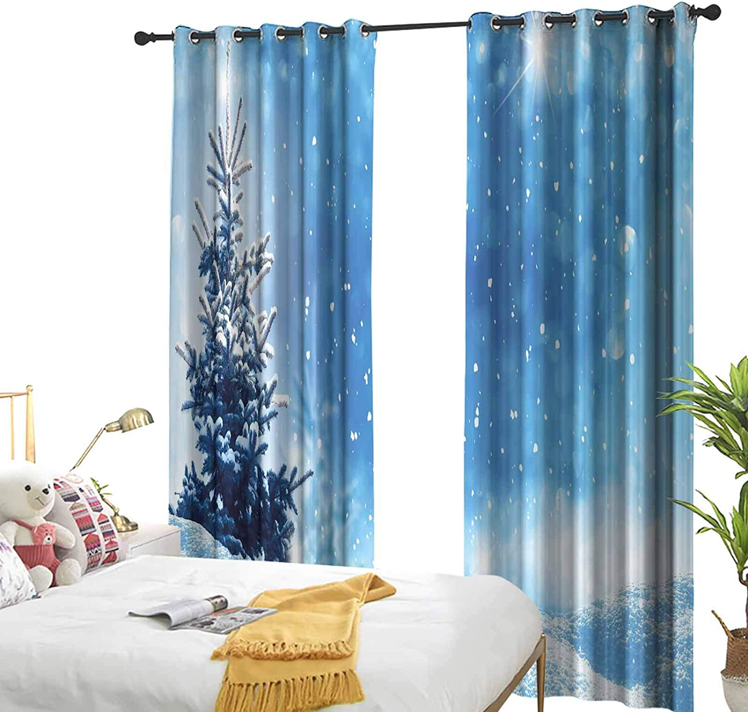 Winter Grommet Curtains for Girls Limited Special Price of Artistic Room Rendition Sno Max 60% OFF
