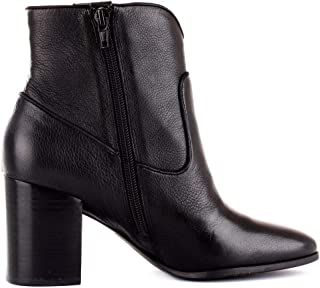 Guess Luxury Fashion Womens FL7CYPLEA10BLACK Black Ankle Boots | Fall Winter 19
