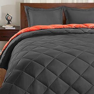 Basic Beyond Down Alternative Comforter Set - Reversible Bed Comforter for All Seasons