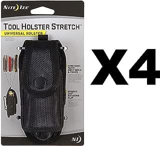 Nite Ize Tool Holster Stretch Universal Multi-Tool/Flashlight Holder (4-Pack)