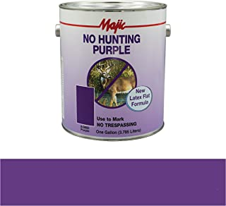 Majic Paints 8-60860-1 Camouflage Paint, 1-Gallon, No Hunting Purple