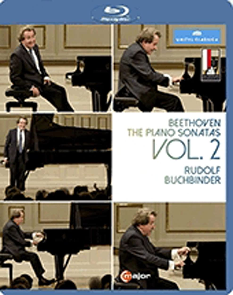 飛躍ヘルパーチェスをするBeethoven: the Piano Sonatas 2 [Blu-ray]