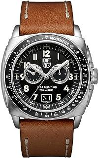 Luminox - P-38 LIGHTNING XA.9447 Reloj de pulsera Cuarzo Hombre correa de Cuero Marrón