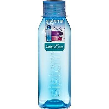 Paquete De 6 460ML Torsión N Sip sistema BPA Gratis hidrato de Botella de agua colores surtidos