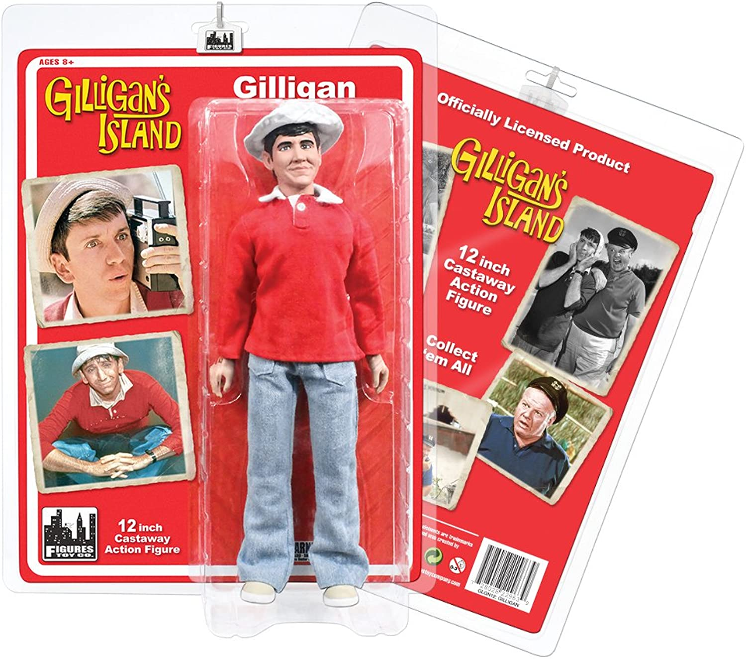 Gilligan's Island Series 1 Gilligan 12 Action Figure by Space 1999 Series 1 Action Figure