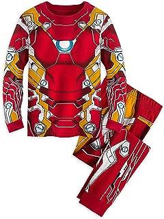 Disney Marvel Iron Man Costume PJ Pals Pajamas for Boys - Captain America: Civil War