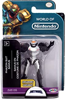 World of Nintendo Phazon Suit Samus Exclusive 2.5 Figure