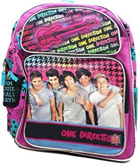 Backpack - One Direction - Pink Guitar (16