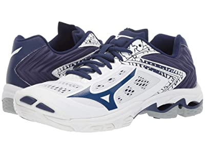 Mizuno Wave Lightning Z5 (White/Navy) Women
