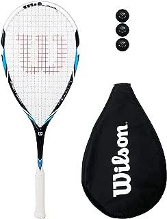 Wilson Pro Team - Raqueta de Squash y 3 Pelotas de Squash