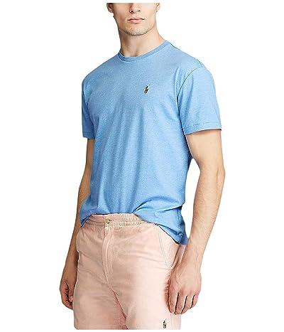 Polo Ralph Lauren Big & Tall Big Tall Short Sleeve Soft Cotton T-Shirt (Soft Royal Heather) Men