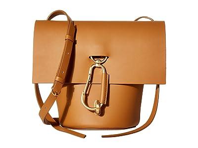 ZAC Zac Posen Belay Crossbody (Camel) Shoulder Handbags